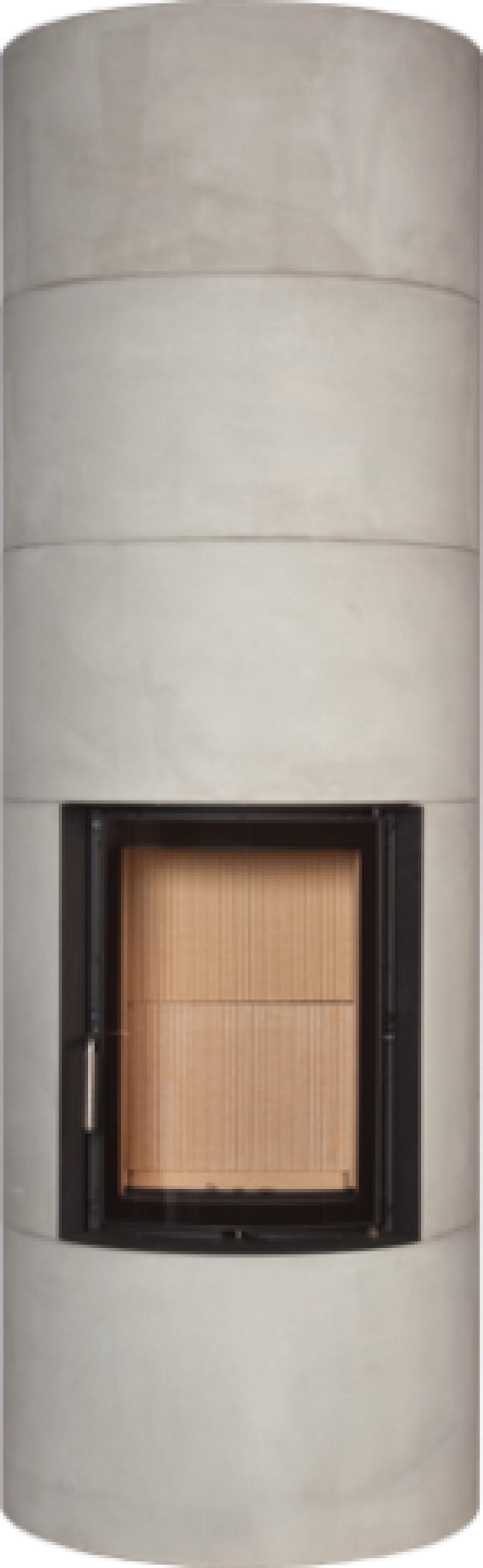 Brunner - Systémová pec BSO 01 s oblúkovým otváracím presklením, nerezový nasúvací rám - 7 kW (kópia~1)