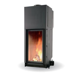 Edilkamin - teplovzdušná oceľová krbová vložka - CRISTAL 45 - 11 kW