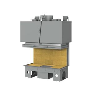 TOTEM - teplovzdušná krbová vložka - 3-Faces Horizon 1000 - 17 kW