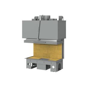 TOTEM - teplovzdušná krbová vložka - 3-Faces 800 - 9 kW