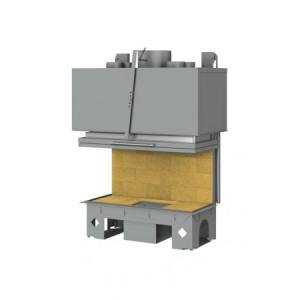 TOTEM - teplovzdušná krbová vložka - 3-Faces 900 - 14 kW