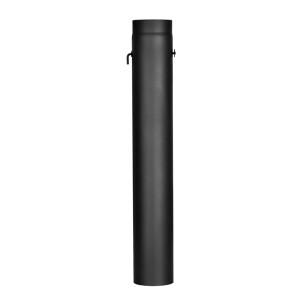 Predĺženie D120/1000mm so škrtiacou klapkou a dvierkami /oceľ/ JEREMIAS