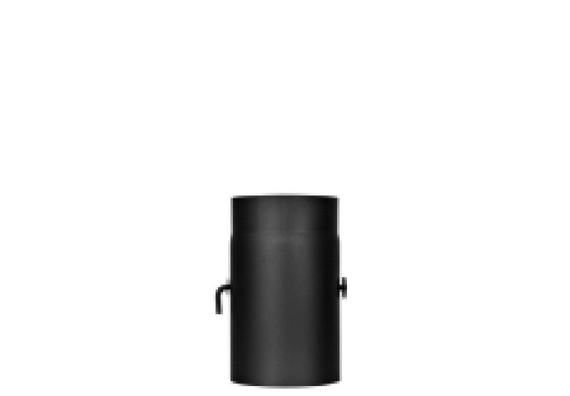 Predĺženie D160/300mm so škrtiacou klapkou /oceľ/ JEREMIAS