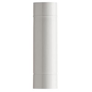 150 / Dymovod dĺžky 50 cm biely smalt lesklý