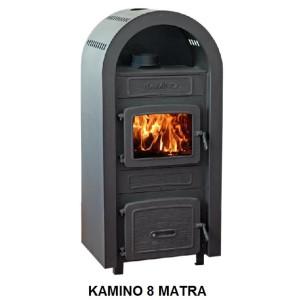 Wamsler - teplovzdušné krbové kachle - KAMINO 8 mátra - 8 kW
