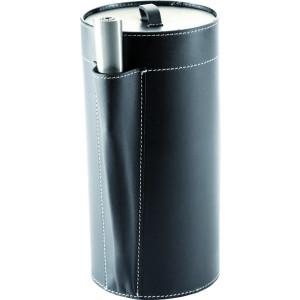 TermaTech - Kožené púzdro na zapaľovač a podpaľovač - NERO (98-240)