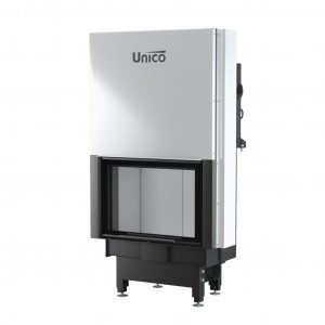 UNICO - Teplovodná krbová vložka - zdvih - NEMO 2 TOPECO LIFT (Raster), 10,2-16  kW