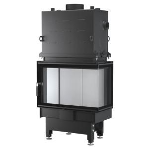 UNICO - Teplovodná krbová vložka - NEMO 2 B TOPECO (Raster), 15 kW