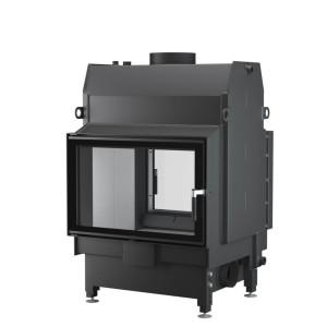 UNICO - Teplovodná krbová vložka - NEMO 4 DUO (Raster), 21 kW