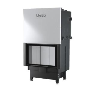 UNICO - Teplovodná krbová vložka - zdvih - NEMO 4/20 TOPECO LIFT (Raster), 13,2-20 kW