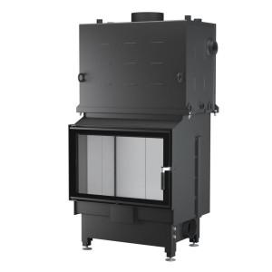 UNICO - Teplovodná krbová vložka - NEMO 4/20 TOPECO (Raster), 20 kW