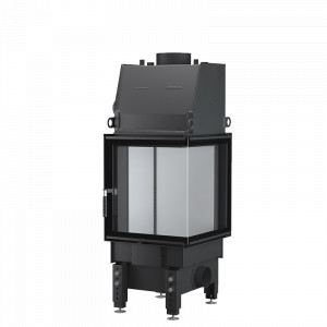 UNICO - Teplovodná krbová vložka - NEMO 8 B (Raster), 12 kW