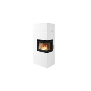 Nordpeis - Krb Salzburg C ľavý - kompletné akumulačné ohnisko s betónovou obstavbou - 3,6 kW