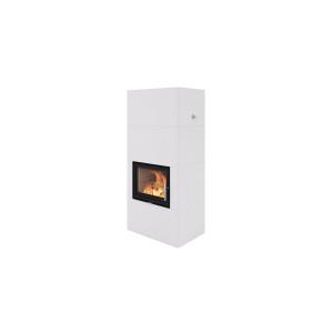 Nordpeis - Krb Salzburg L Basic - kompletné akumulačné ohnisko s betónovou obstavbou - 2,7 kW