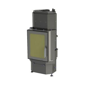 ABX - teplovodná krbová vložka - DERBY Aqua - Plan - 12 kW