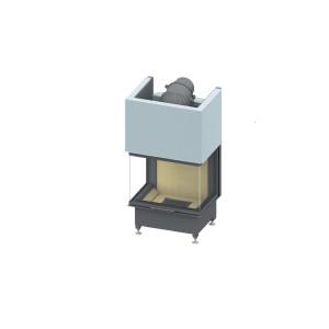 SCHMID - Teplovzdušná krbová vložka - EKKO U 67 h - 9 kW