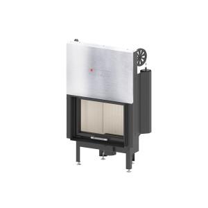 HITZE - Teplovzdušná krbová vložka - ALBERO AL 9 G.H - 9 kW