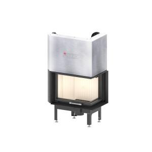 HITZE - Teplovzdušná krbová vložka - ALBERO AL 9 RG.H - 9 kW