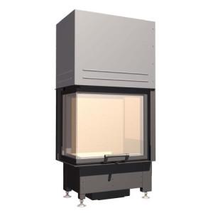 SCHMID - Teplovzdušná krbová vložka - EKKO L 55 h - 5 kW
