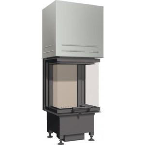 SCHMID - Teplovzdušná krbová vložka - EKKO U 45 h - 4 kW