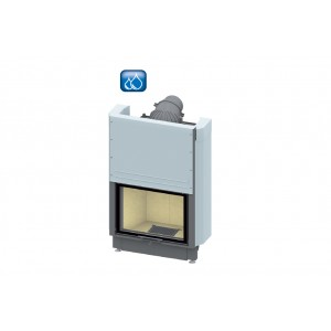 SCHMID - teplovodná krbová vložka - Lina W 6751 h - 14,5 kW
