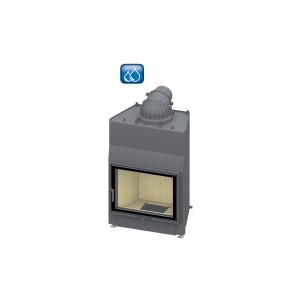 SCHMID - teplovodná krbová vložka - Lina W 6751 s - 14,5 kW