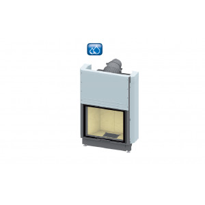 SCHMID - teplovodná krbová vložka - Lina W 7363 h - 14,9 kW