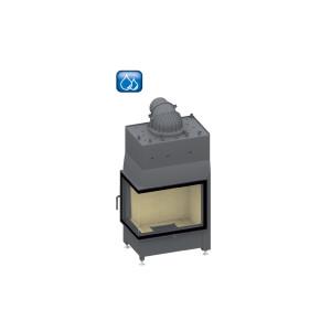 SCHMID - teplovodná krbová vložka - Ekko W L 67(45)51 s, steglos -14 kW