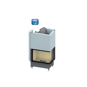 SCHMID - teplovodná krbová vložka - Ekko W R 67(45)51 h - 14,9 kW