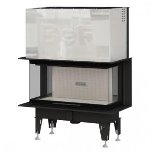 Bef Home - teplovzdušná krbová vložka - Bef THERM V 10 C = 13 kW