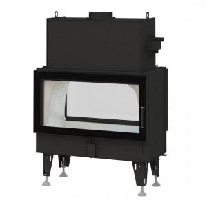Bef Home - teplovodná krbová vložka - Twin 10 AQUATIC II - 6,5-20 kW