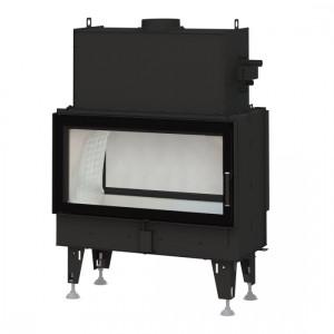 Bef Home - teplovodná krbová vložka - Twin 10 N AQUATIC II - 6,6-20 kW