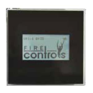 FireControls - Elektronická regulácia - Displej čierny WiFire/WiFire H2O