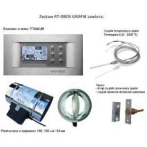 Tatarek - Regulátor teploty RT 08 G Bufor Solar Titán - vzduchová klapka o 100 mm - podomietkový