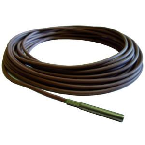 FireControls - Elektronická regulácia - Snímač nízkoteplotný T2, kábel odolný do 220°C, 8bm