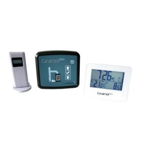 FireControls - Elektronická regulácia - Regulácia elektronická GRAND ECO, bez klapky, biela