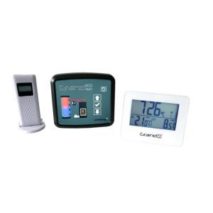 FireControls - Elektronická regulácia - Regulácia elektronická GRAND ECO H2O, s klapkou, biela