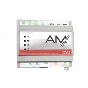"FireControls - Elektronická regulácia - Regulácia elektronická AM Kompakt, set bez klapky, čierny displej 3,5"", SK"