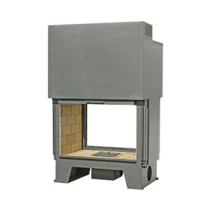 TOTEM - teplovzdušná krbová vložka - Frontal 1000 battant - 18 kW