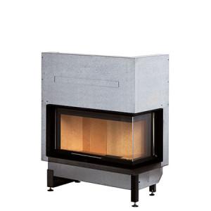 Rocal - teplovzdušná krbová vložka - G 450 LD - pravý - 11 kW