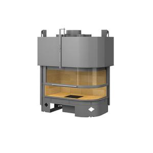 TOTEM - teplovzdušná krbová vložka - Galbe Lateral pravý / ľavý 900 smoke trap  - 9 kW