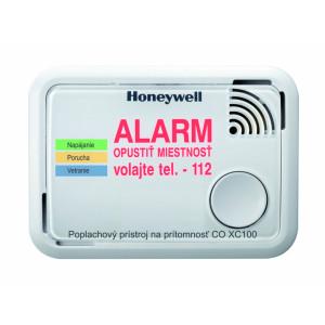 Honeywell alarm CO oxidu uhoľnatého XC100