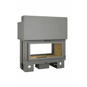 TOTEM - teplovzdušná krbová vložka - Horizon 1000 battant - 18 kW
