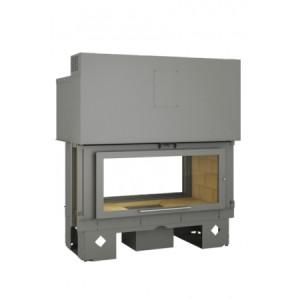 TOTEM - teplovzdušná krbová vložka - Horizon 1100 battant - 17 kW