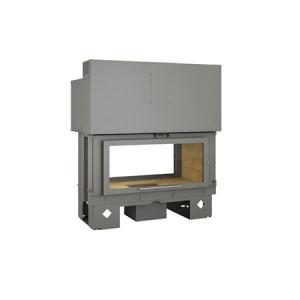 TOTEM - teplovzdušná krbová vložka - Horizon 901 battant - 12 kW