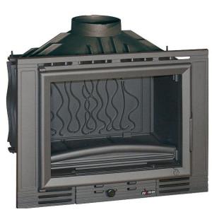 Invicta - teplovzdušná liatinová krbová vložka - 700 minos - 14 kW