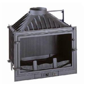 Invicta - teplovzdušná liatinová krbová vložka - 700 promo, s klapkou - 14 kW