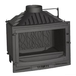 Invicta - teplovzdušná liatinová krbová vložka, s klapkou - 700 selenic - 14 kW