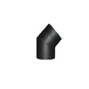Koleno pevné D200/30° s dvierkami /oceľ/ JEREMIAS