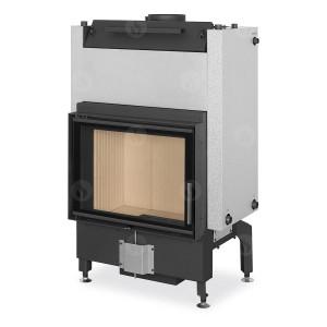 Romotop - teplovodná krbová vložka - DYNAMIC W 2g 66.50.01 - krbová vložka s teplovodným výmenníkom a dvojsklom - 5,9-15,2 kW